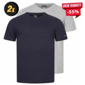 Kappa Tobias Herren Unterhemd 2er-Pack 705050-901