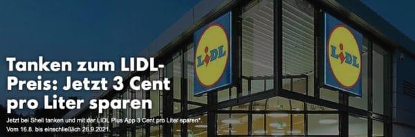 LIDL App Tanken