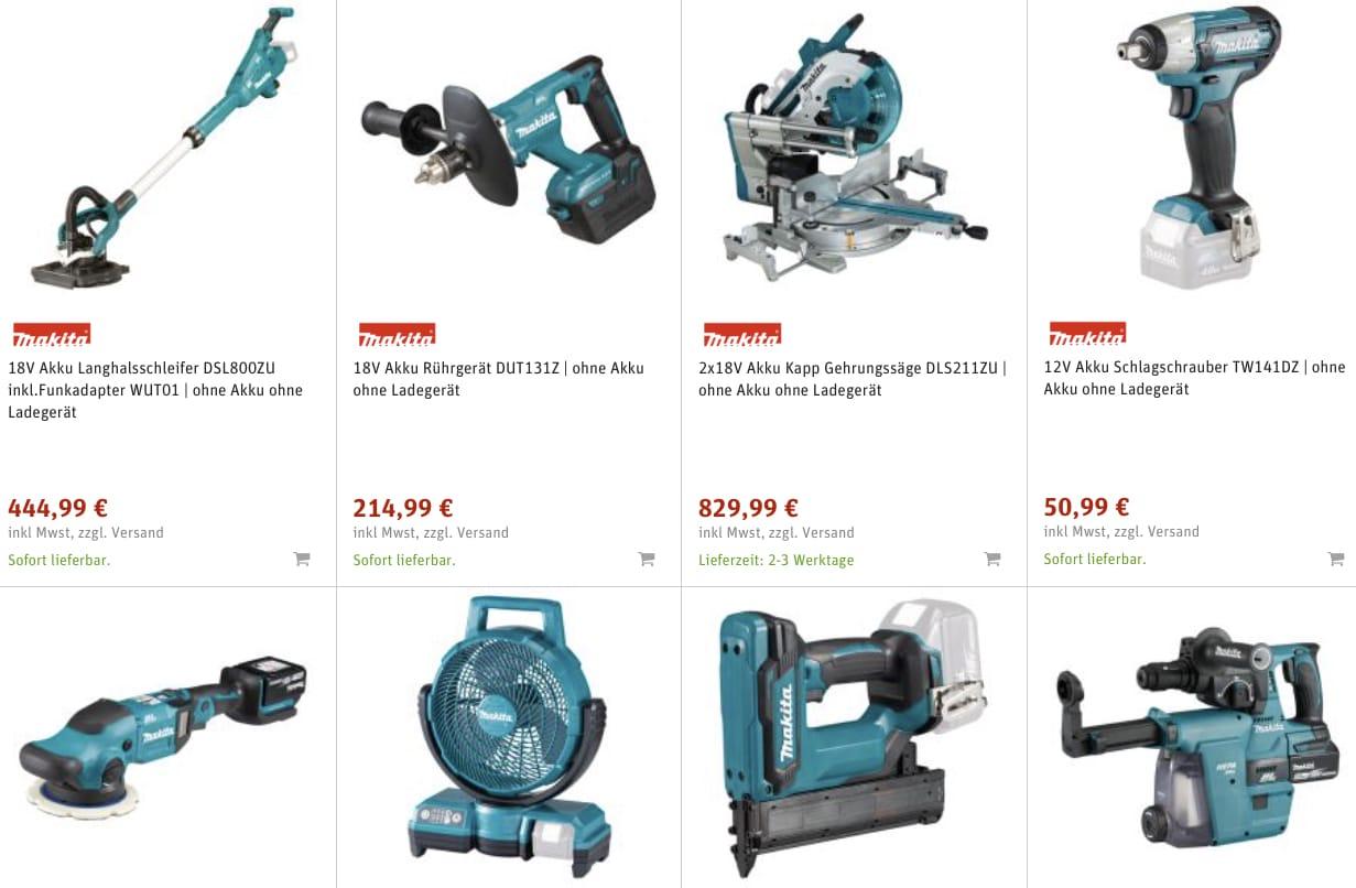 MAKITA Werkzeug guenstig online kaufen  svh24.de 2021 08 17