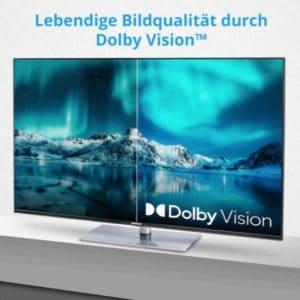 """Medion X14360 43"""" Ultra-HD Smart-TV mit HDR10"""