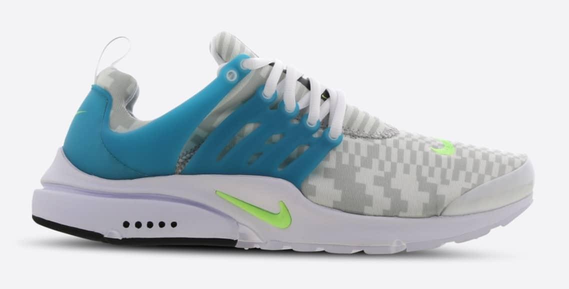 Nike Presto White Lime Aquamarine