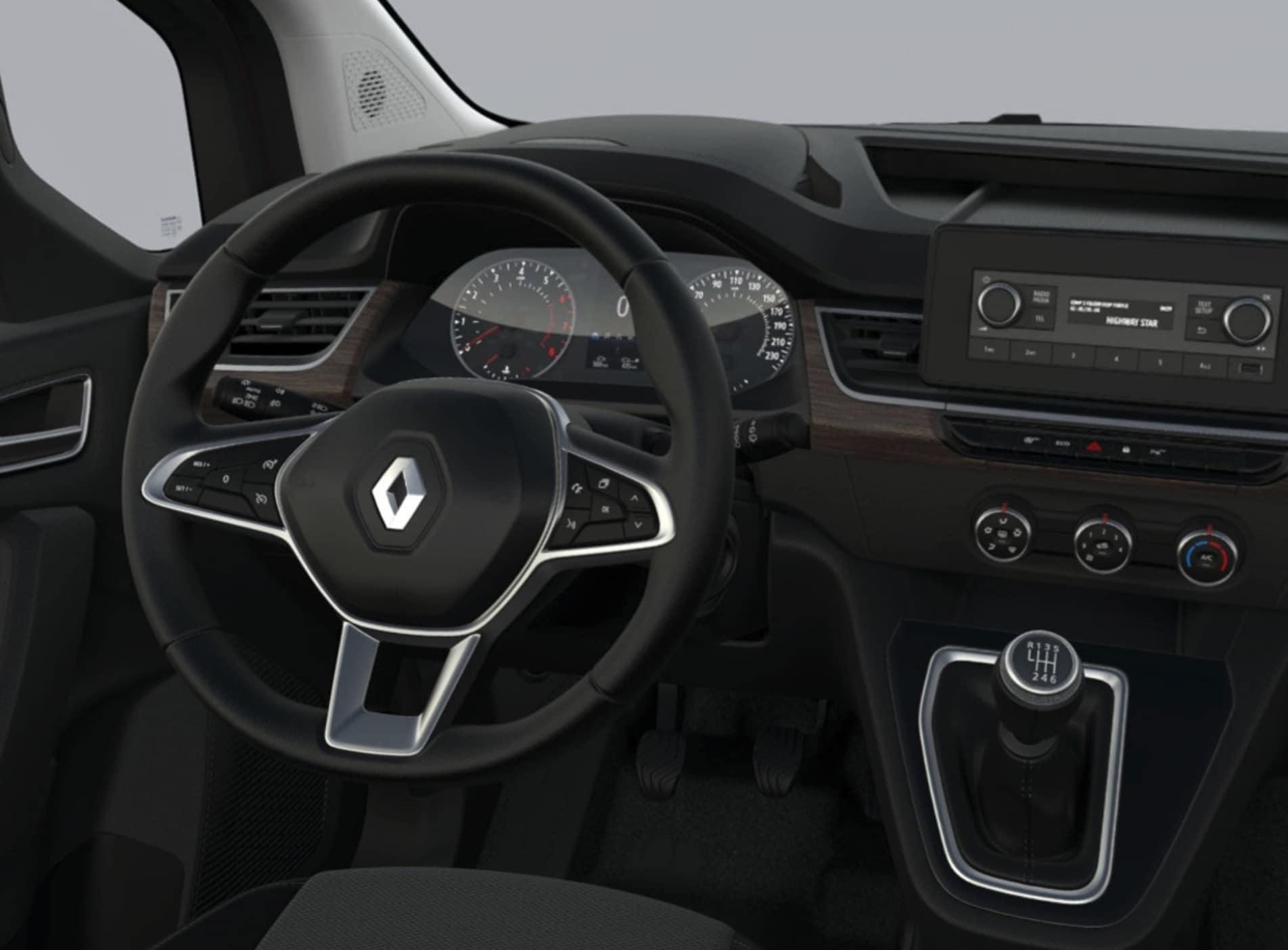 Renault Kangoo Kombi innen
