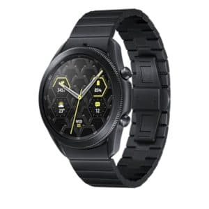 Samsung Galaxy Watch3 runde Bluetooth Smartwatch fuer Android titan deal