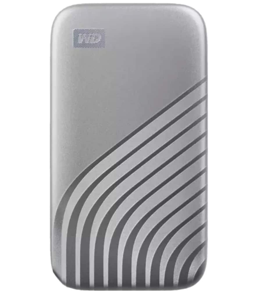 WD My Passport 1TB SSD Silber