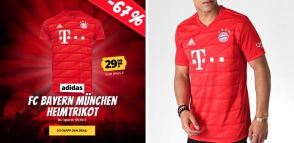 adidas FC Bayern München Herren Heim Trikot DW7410