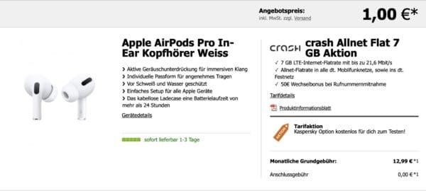 airpods pro crash