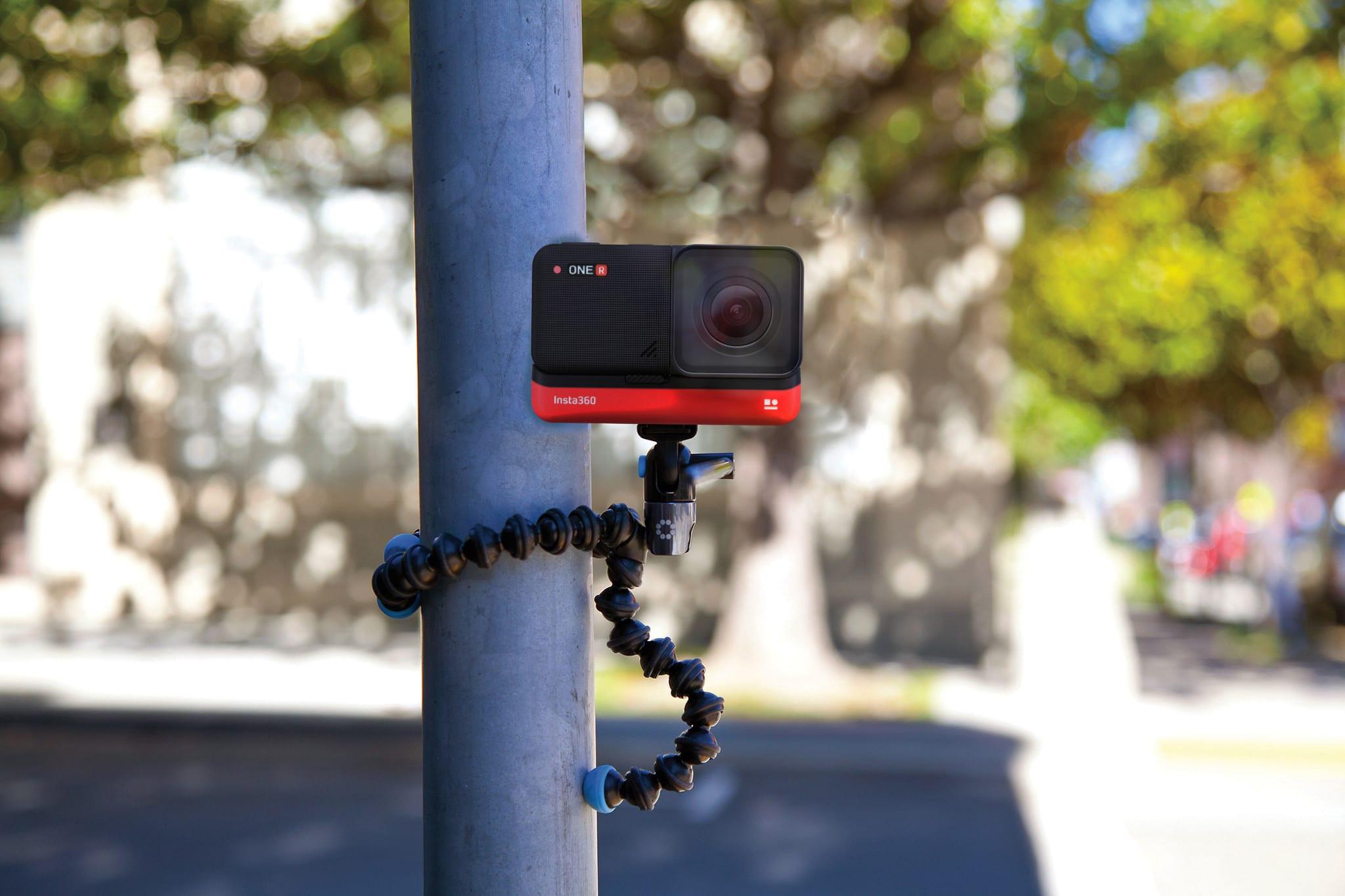 joby GP10 smartphonehalterung mit tripod lieferumfang