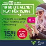 [Endspurt] 🚀 Telekom Allnet mit 18GB LTE für 15,99€ mtl.