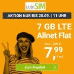Flexible o2 LTE Allnet-Flats 📱 z.B. 9GB für 8,99€ / 7GB für 7,99€ & mehr (Drillisch)