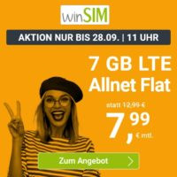 WINsim 7GB 7,99€ Allnet