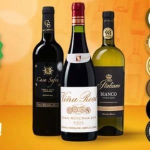 20 Prozent auf Wein