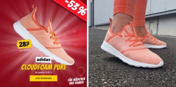 Adidas Cloudfoam Damen Mädels Pure Sneaker