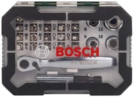 Bosch 26tlg. Schrauberbit- und Ratschen-Set extra harte Qualität