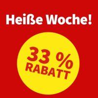 """""""Heiße Woche"""" mit tägl. 33% Rabatt auf Lotterien (auch für Bestandskunden) bei Lottohelden"""