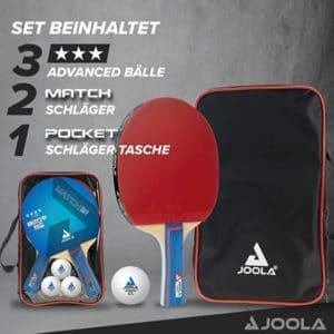 JOOLA Tischtennis Set Duo