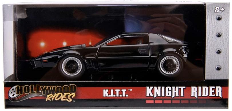 Jada Toys 253252000 Knight Rider K.I.T.T.   1982 Pontiac Trans AM Modellauto 132 Detail Innenraum Tueren zum OEffnen schwarz 2021 09 02 1