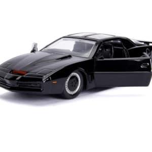 Jada Toys 253252000 Knight Rider K.I.T.T.   1982 Pontiac Trans AM Modellauto 132 Detail Innenraum Tueren zum OEffnen schwarz 2021 09 02