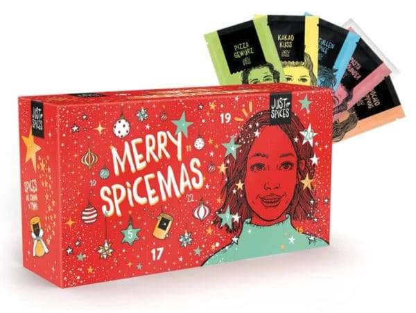 Just Spices Gewürz Adventskalender klein 2021