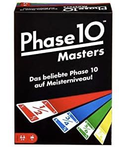 Mattel Spiele FPW34 Phase 10 Masters Kartenspiel Amazon.de Spielzeug 2021 09 01 1