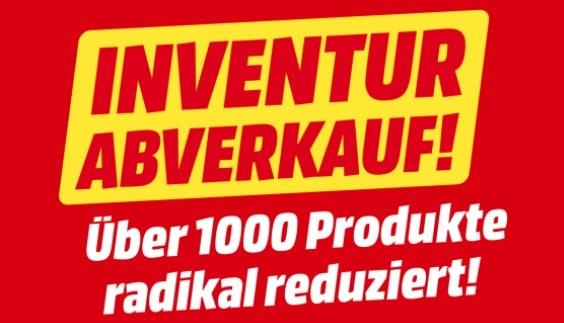 MediaMarkt Inventurabverkauf