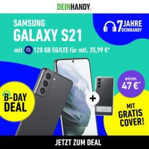 Samsung Galaxy S21  Galaxy Z Flip3  OnePlus 9 Pro  o2 Free Boost mit 120GB 3