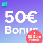 [Endet] 🔥 Hammer: 100€ Bonus für kostenloses Consorsbank Girokonto!