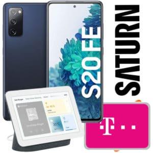 Eff. GRATIS📱Galaxy S20 FE (2021, Snapdragon) für 1€ mit 6GB Telekom LTE Allnet für 19,99€ mtl. + Nest Hub