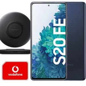 Eff GRATIS!📱Galaxy S20 FE (2021) + Charger + Nest Hub mit Allnet mit 5GB LTE (Vodafone) für 17,99€ mtl.
