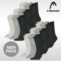 18er Pack Herren Sport-Socken - Head