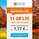 🎉 Flexible 16GB LTE Allnet-Flat für 14,99€ mtl. / 8GB LTE Allnet für 8,99€ mtl.