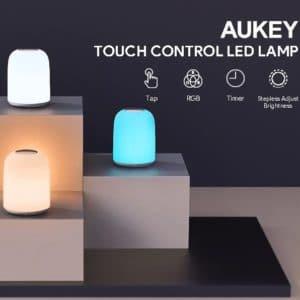 AUKEY LT-T8 dimmbare Nachttischlampe