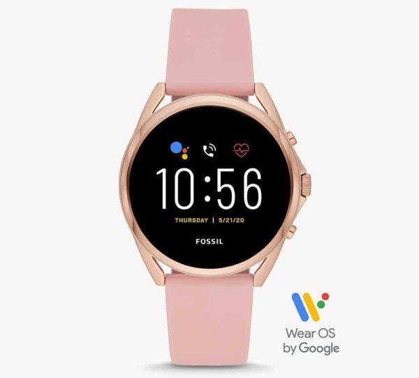 Gen 5 LTE Smartwatch Silikon rosa