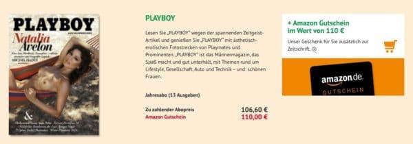 Playboy im Jahresabo kiosk.news