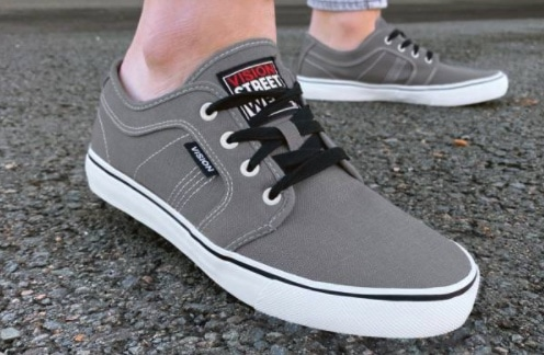 Vision Street Wear Optic 13 Canvas Herren Sneaker 246018-PEWTER
