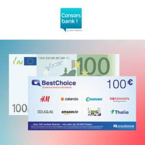 [Deal des Jahres] 200€ Gesamtprämie für kostenloses Consorsbank Depot 🔥🎉😱