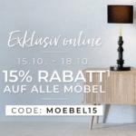 [Endet heute] 🛋️15% Rabatt auf fast alle Möbel bei Depot!