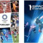 """GRATIS *2 Spiele* """"Space Engineers"""" + """"Olympische Spiele Tokyo 2020 – Das offizielle Videospiel™"""" kostenlos"""