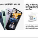 Gratis Google Nest Hub bei Kauf eines Samsung Aktionsgerätes