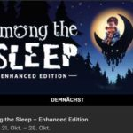 """[Bis 17 Uhr] Gratis Spiel """"Among the Sleep – Enhanced Edition"""" im Epic-Games-Store + weitere Spiele"""