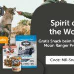 Gratis Snack zum Kauf eines Moon Ranger Produkt bei ZooRoyal