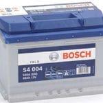 Starterbatterie Bosch S4 60Ah/540A für 66,37€ (statt 74,45€)