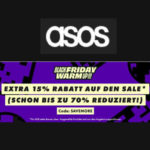 Asos: 15% Extra Rabatt auf den Sale