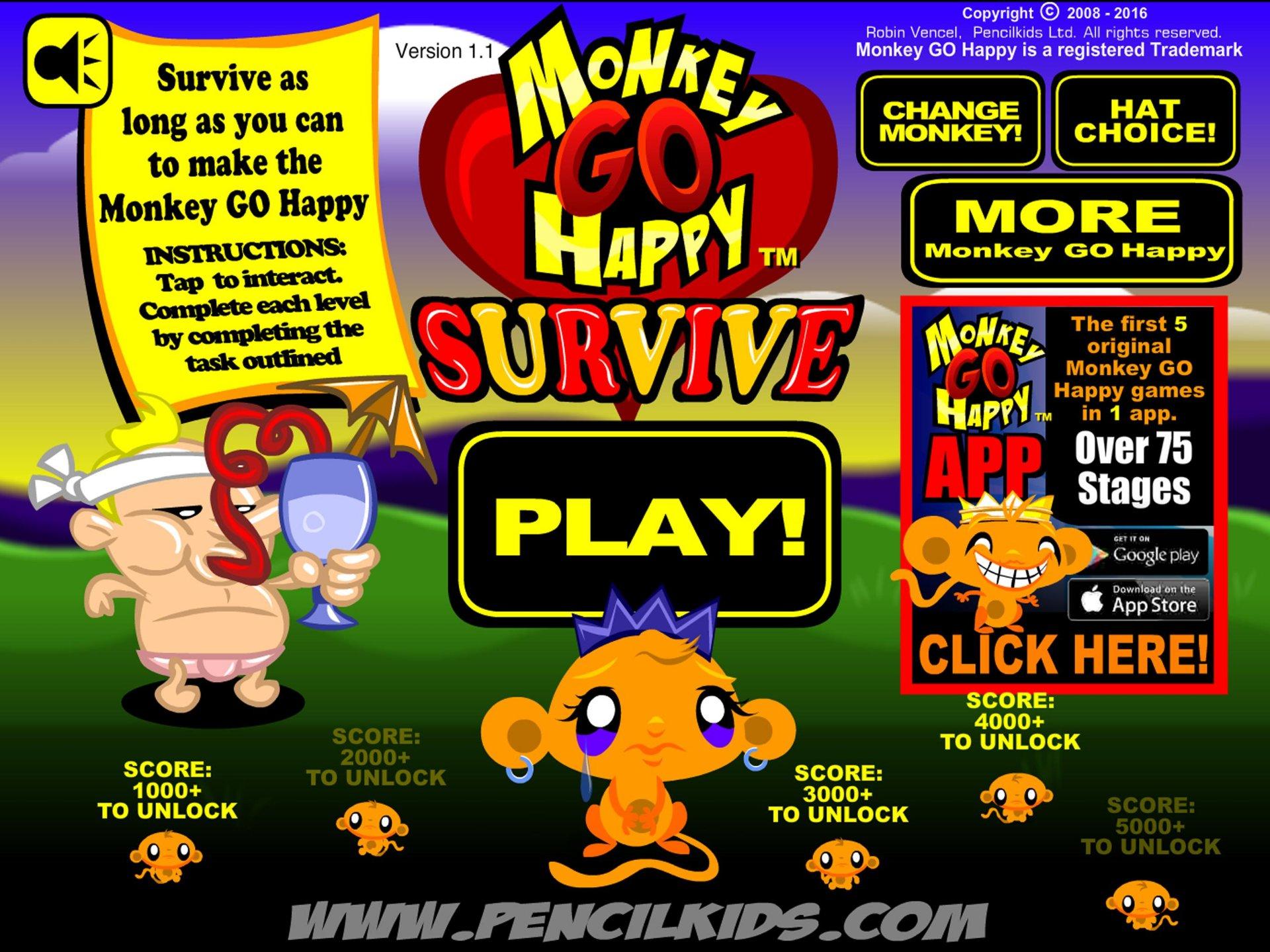 GRATIS Spiel Monkey GO Happy kostenlos downloaden für