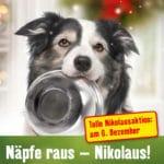 Nikolausaktion bei Fressnapf für Haustiere
