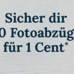 *Top* 50 Fotoabzüge nur 1 Cent (über Poster XXXL Android App)