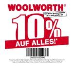 Woolworth 10% Rabatt auf alles vom 26.11. - 29.11.2020