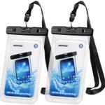 Amazon Blitzangebot: 2x Mpow Wasserdichte Handyhülle bis 7 Zoll