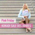 KOKADI Pink Friday: Bis zu 55% Rabatt auf Babytragen uvm.