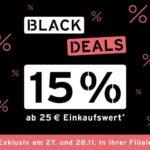 *bis zum 28.11.* 15% Extra-Rabatt bei Tchibo ab 25€
