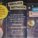 """""""200 gr. Nikolaus + Nikolaus-Äpfel"""" am 02.12.2020 bei Netto MD von 14:00 - 16:00 Uhr"""